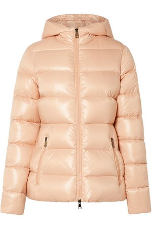 Moncler | Hooded quilted shell down jacket | NET-A-PORTER.COM