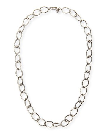 "Armenta 20"" Sterling Silver Twisted Link Necklace"