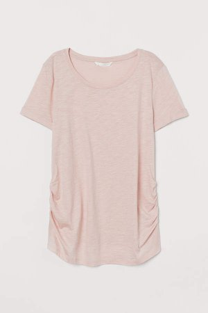 MAMA Cotton-blend T-shirt - Pink