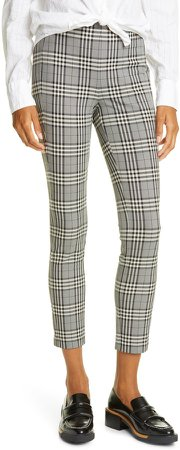Simone Check Ankle Trousers