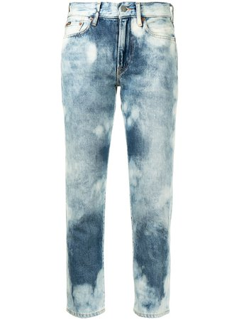 Polo Ralph Lauren mid-rise Cropped Jeans - Farfetch