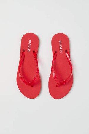 Flip-flops - Red