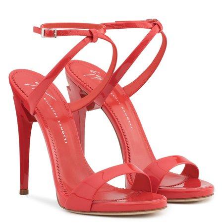 G-Heel - Sandals - Red | Giuseppe Zanotti - US