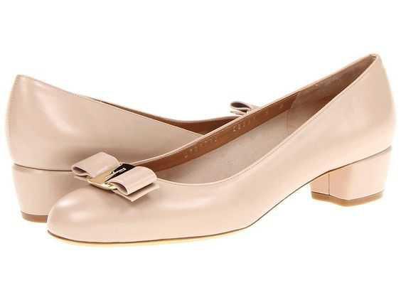 (2) low heeled pumps