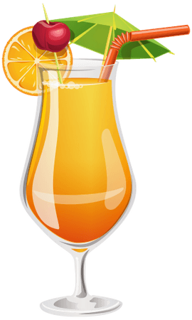 orange tropical drinks - Google Search