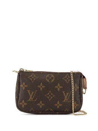 Louis Vuitton Pre-Owned Mini Accessories Pochette Handbag | Farfetch.com
