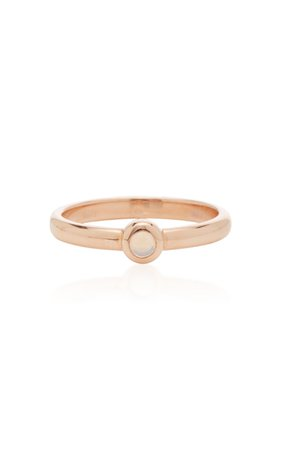 RENNA Opal Bookend Ring