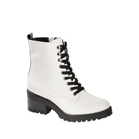 Scoop - Scoop Maxine Lug Sole Combat Boot Women's - Walmart.com