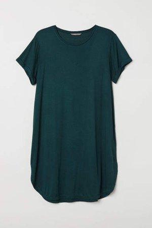 H&M+ Jersey Tunic - Green