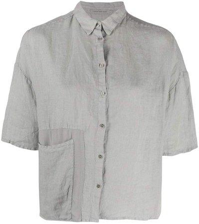 Transit Short-Sleeve Linen Shirt