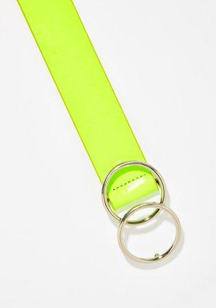 Neon Green Belt | Dolls Kill