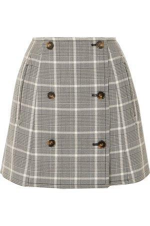 Stella McCartney | Prince of Wales checked wool mini skirt | NET-A-PORTER.COM