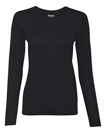 Black Long Sleeve Female Shirt