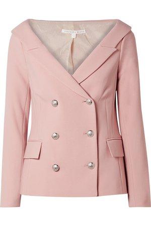 Veronica Beard | Frayne double-breasted crepe blazer | NET-A-PORTER.COM