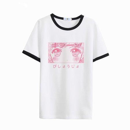 Japonês Bonito Duro Mulheres T shirt Irmã Macio Leite de Sailor Moon seda Kawaii Camisas Brancas de T Para O Sexo Feminino Harajuku Estilo Gráfico Tees em Camisetas de Das mulheres Roupas & Acessórios no AliExpress.com | Alibaba Group