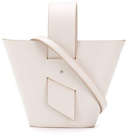 open-top bucket tote