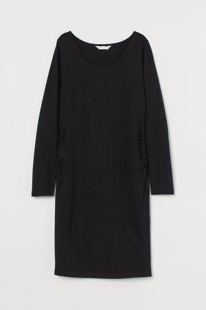MAMA Jersey Dress - Black