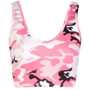 Pink Camo Tank Top