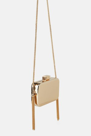 GOLD BOX BAG-BAGS-WOMAN-SHOES&BAGS   ZARA United States