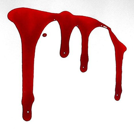 blood drips png filler