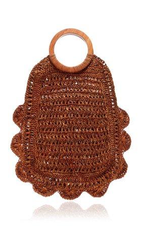 Binah Woven Straw Tote by KAYU | Moda Operandi