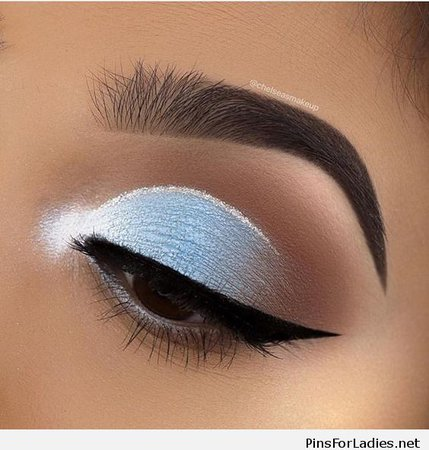 Baby Blue Eyeshadow Makeup | Saubhaya Makeup on We Heart It