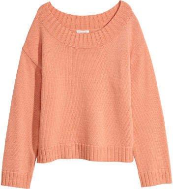 Knit Sweater - Orange