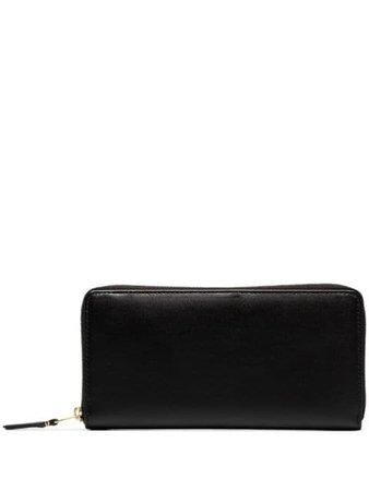 Comme Des Garçons Wallet Continental Wallet SA0110 Black | Farfetch