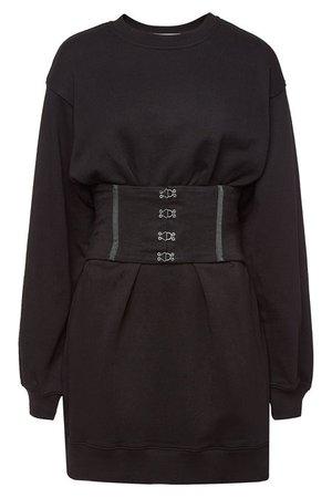Jonathan Simkhai - Cotton Casual Corset Dress - black