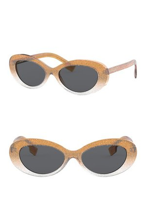 Burberry | 54mm Oval Sunglasses | Nordstrom Rack