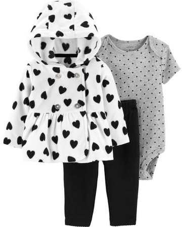 Baby Girl 3-Piece Little Jacket Set   Carters.com