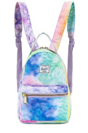Herschel Supply Co. Nova Mini Backpack in Pastel Tie Dye | REVOLVE