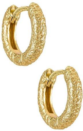 Arms Of Eve Luka Huggie Earrings