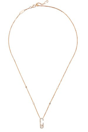 Messika | Move Addiction 18-karat rose gold diamond necklace | NET-A-PORTER.COM