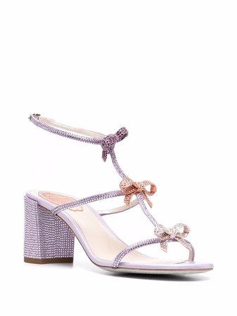 René Caovilla Caterina bow-detail Sandals - Farfetch