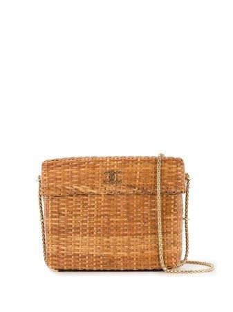 Chanel Pre-Owned Basket Shoulder Bag - Farfetch