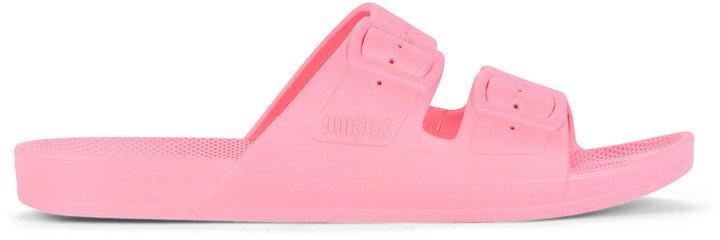 Double Strap Slide Sandals