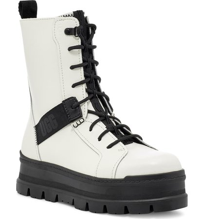 UGG® Sheena Lace-Up Boot (Women) | Nordstrom