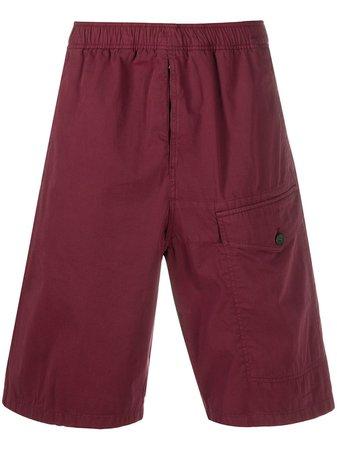 Acne Studios Elasticated Waistband Bermuda Shorts - Farfetch