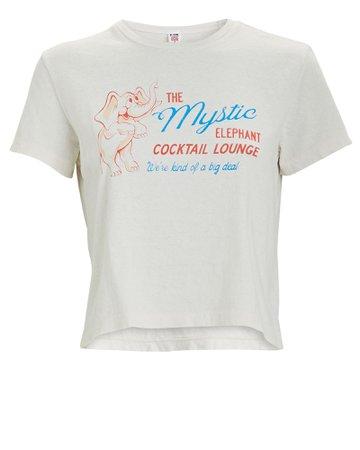 RE/DONE The Mystic Elephant Boxy Crop T-Shirt | INTERMIX®