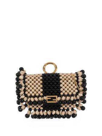 Fendi Nano Baguette Charm Crossbody Bag - Farfetch