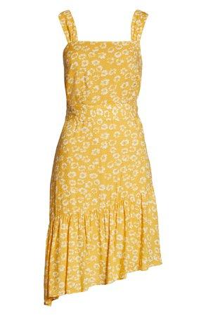 Sam Edelman Textured Asymmetrical Hem Sundress | Nordstrom