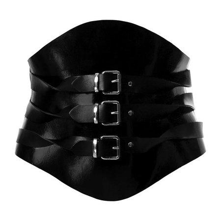 Twisted Belt Black