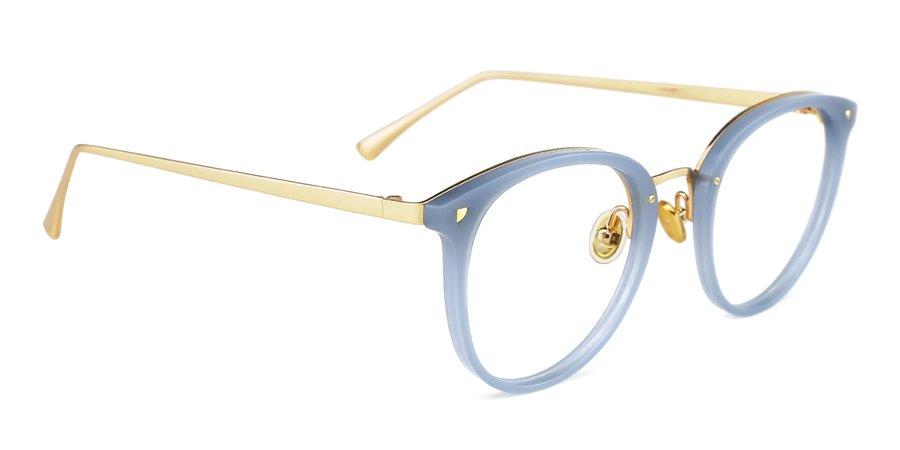 Maaike eyeglasses in Pale Blue for women and men - Shop Eyeglasses & Sunglasses Online - Rx Glasses   TIJN® Eyewear