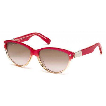 Sunglasses | Shop Women's Dsquared2 Pink Uv2 Sunglass at Fashiontage | DQ0147_57_44F_B80002-198729