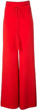 tassel detail palazzo trousers