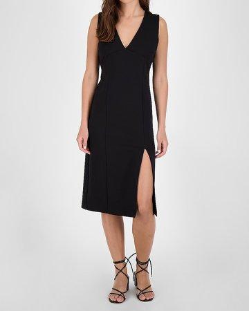 Bb Dakota V-Neck Sheath Midi Dress