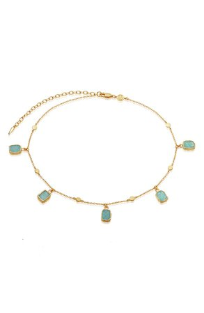 Missoma Lena Amazonite Choker Necklace | Nordstrom