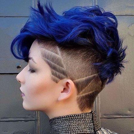 blue short hair - Google-søgning
