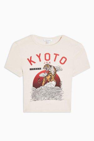 Cream Kyoto T-Shirt | Topshop